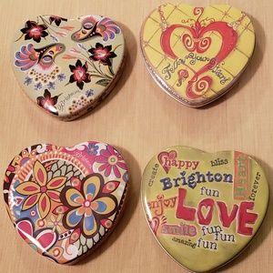 Brighton Tins Set of 4